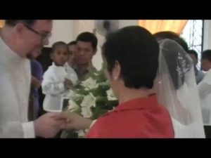 """First """"Mano"""" of my groom to my parents"""
