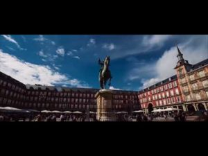 Travel Madrid in a Minute   Aerial Drone Video  Expedia