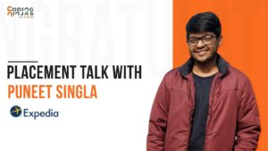 How Puneet Singla got placement offer from Expedia   Placement Talk